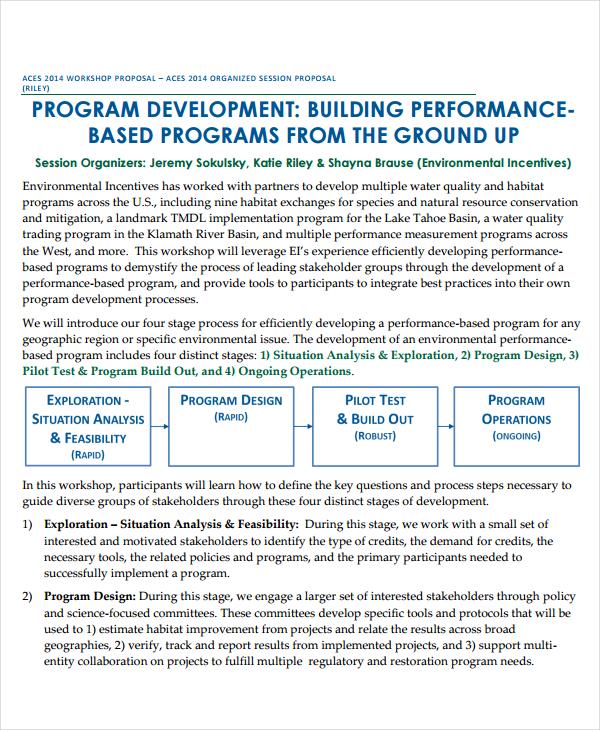 workshop proposal sample