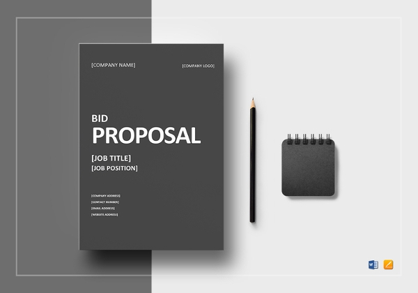 12 Bid Proposal Examples Pdf Doc Examples