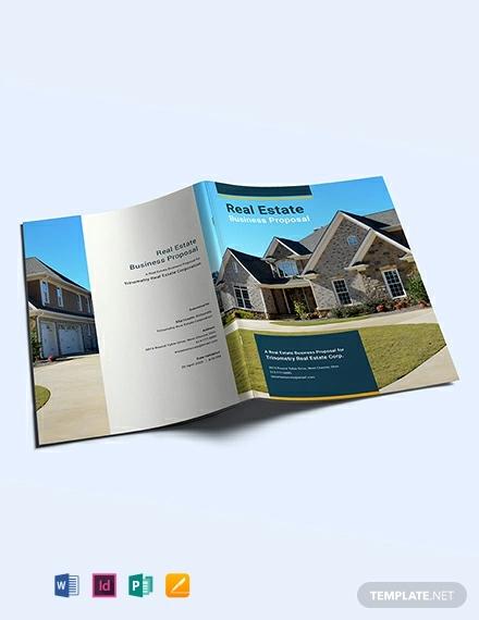 free real estate busiess proposal