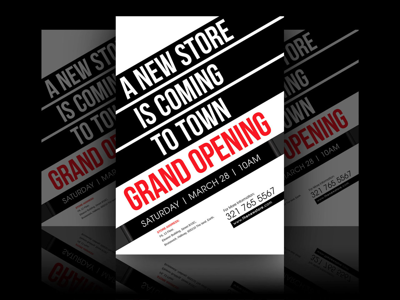 9+ Grand Opening Flyer Designs & Examples - PSD, AI, Vector EPS