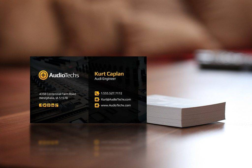 17+ Music Business Card Designs & Examples - PSD, AI, Vector EPS