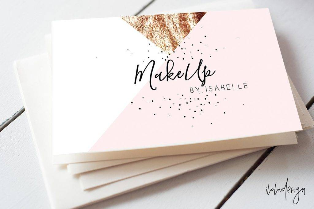 18+ Makeup Artist Business Card Designs & Examples - PSD, AI, Vector EPS