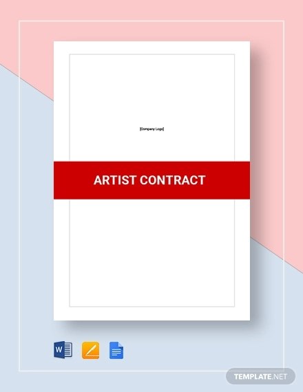 artist contract1