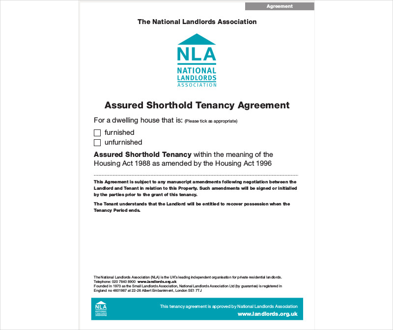 assured shorthold tenancy agreement2