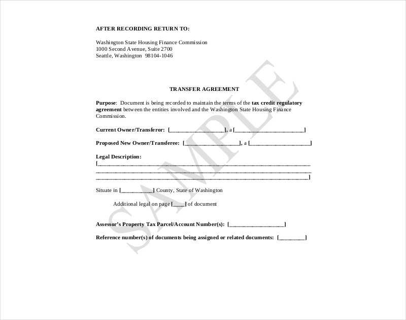 bond transfer agreement