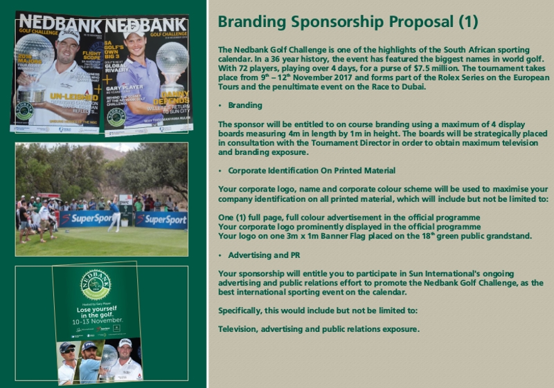 branding sponshership proposal