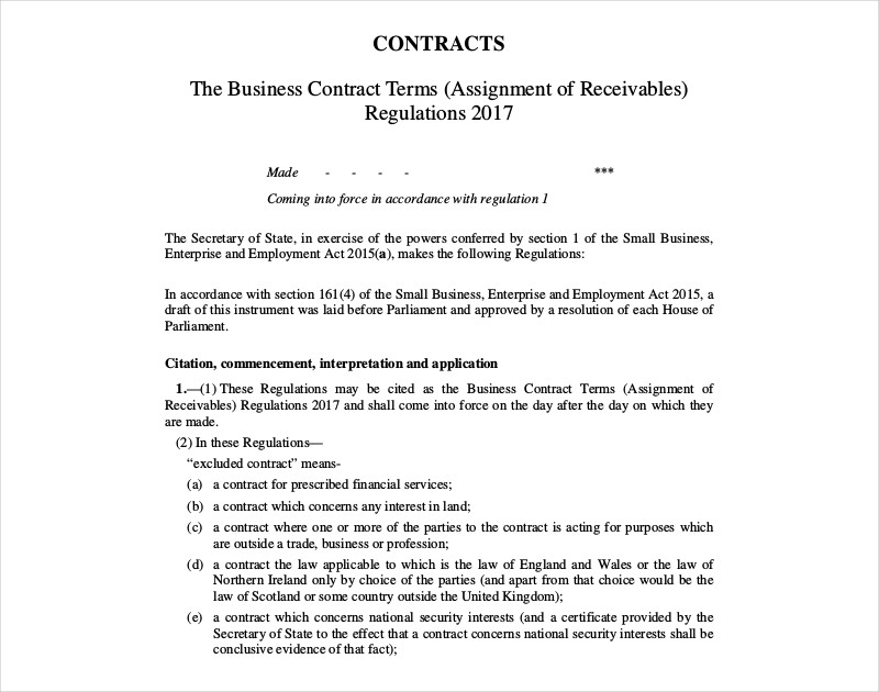 business contract in pdf