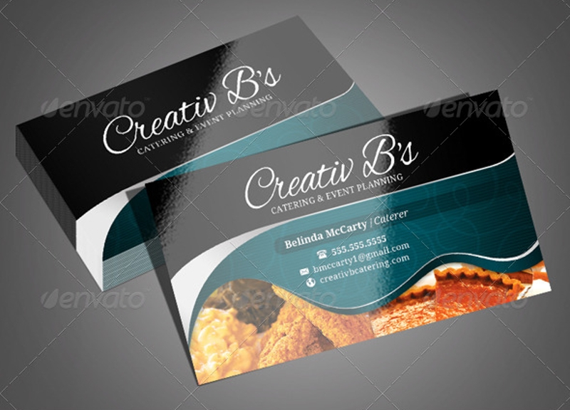 Free 19 Catering Business Card Templates In Publisher