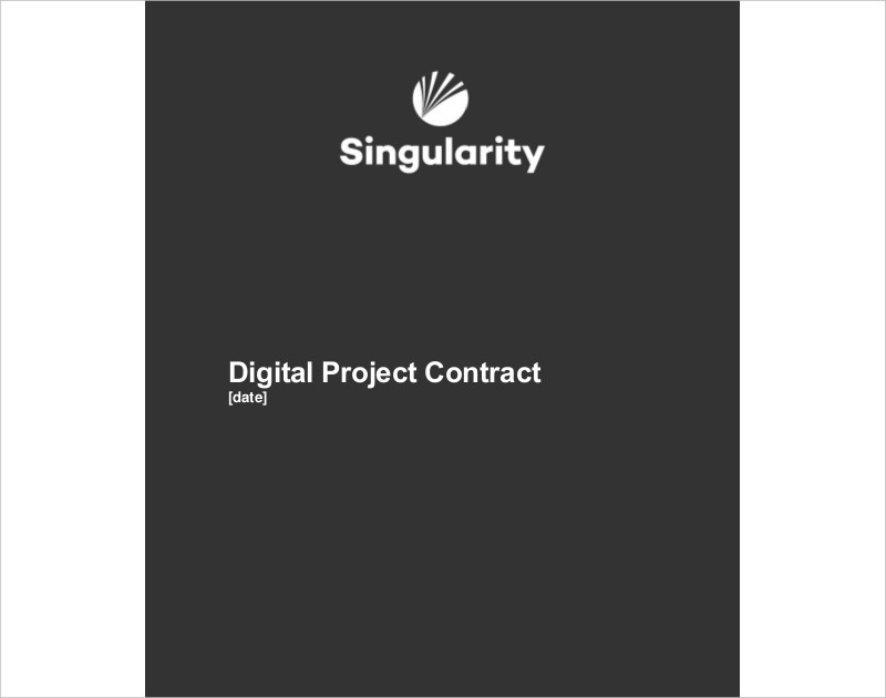 digital project contract