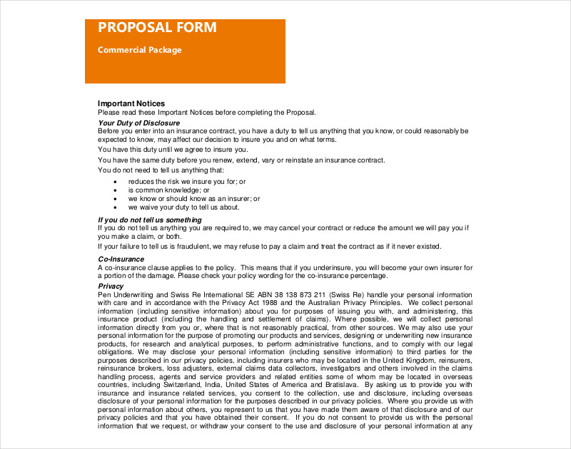 editable commercial proposal in pdf