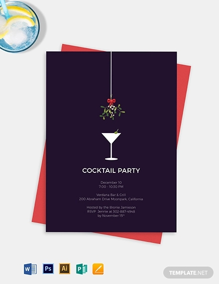 20 Cocktail Party Invitation Designs And Examples