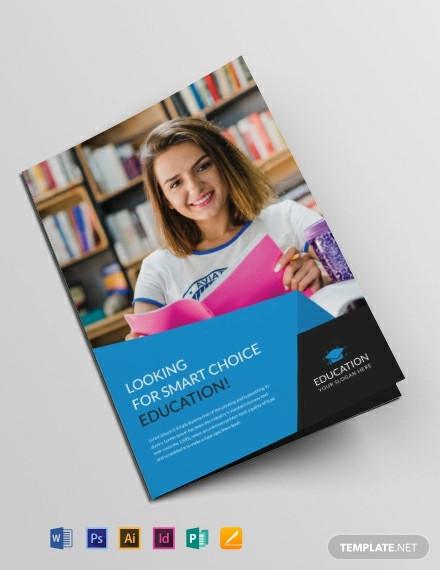 free education brochure template