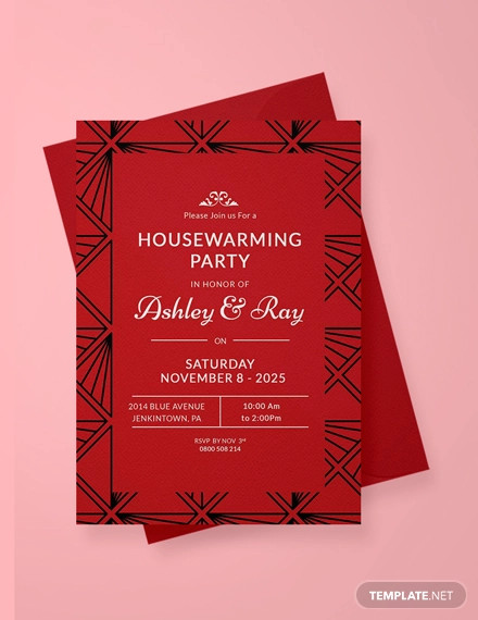 free housewarming invitation template