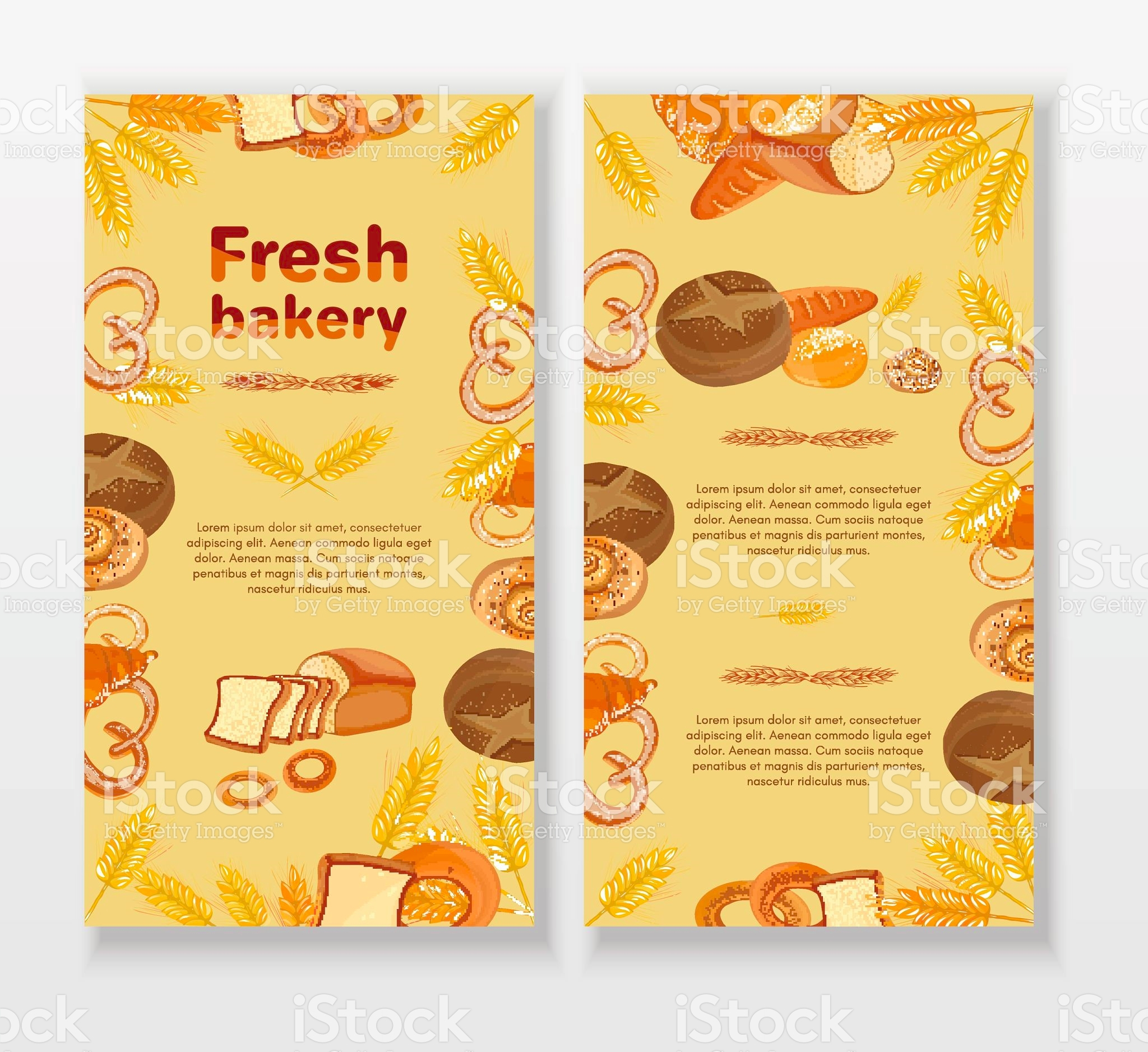 fresh bakery menu
