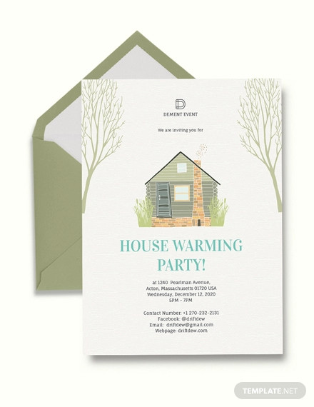 housewarming party invitation example