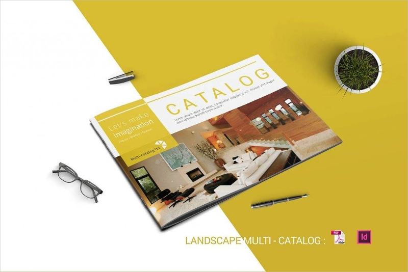 indesign multipurpose catalog