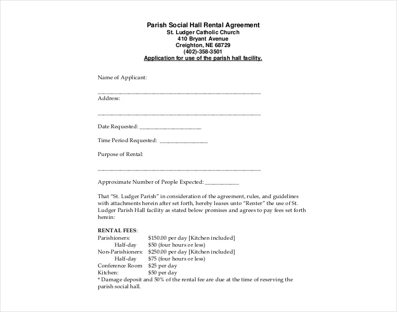 27 Rental Agreement Examples Pdf Doc Examples