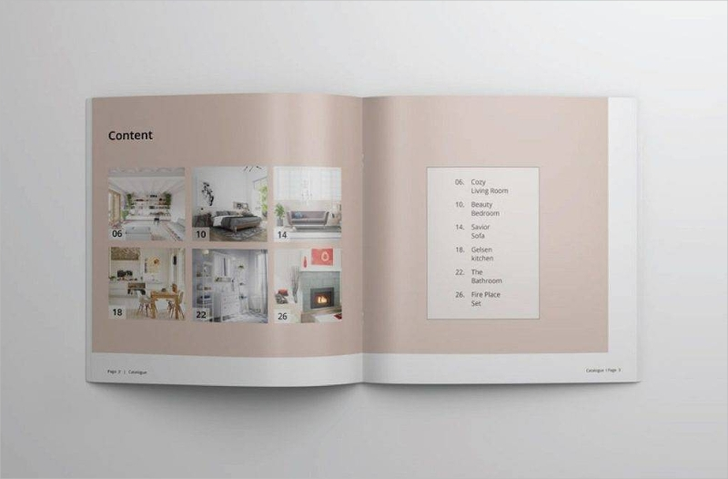pink minimal multipurpose catalog