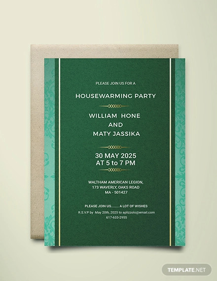 23 Housewarming Party Invitation Designs And Examples