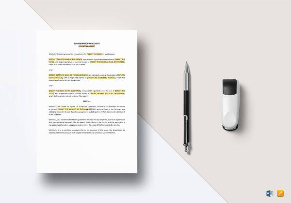 16 Subscription Agreement Examples Samples Pdf Doc