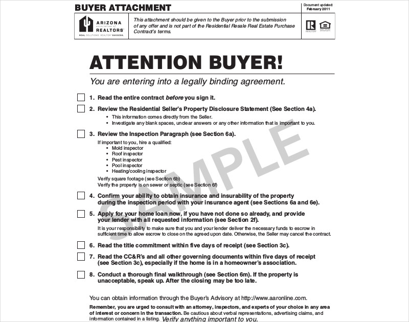 purchase contract sample