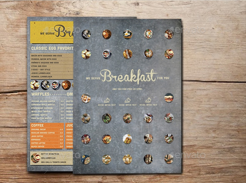 rustic breakfast menu1
