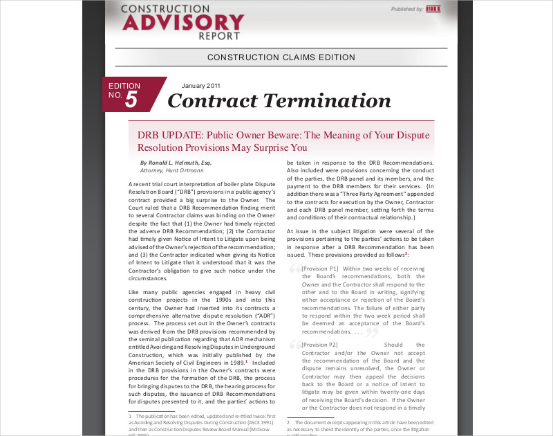 termination contract example
