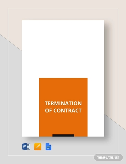 termination contract