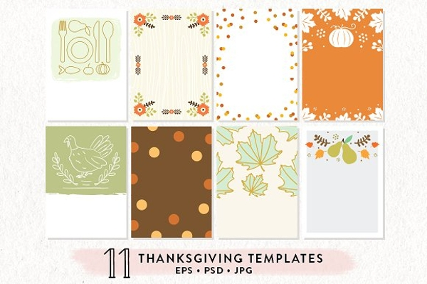 thanksgiving printables bundle