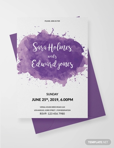 27 Elegant Invitation Designs And Examples PSD AI Word