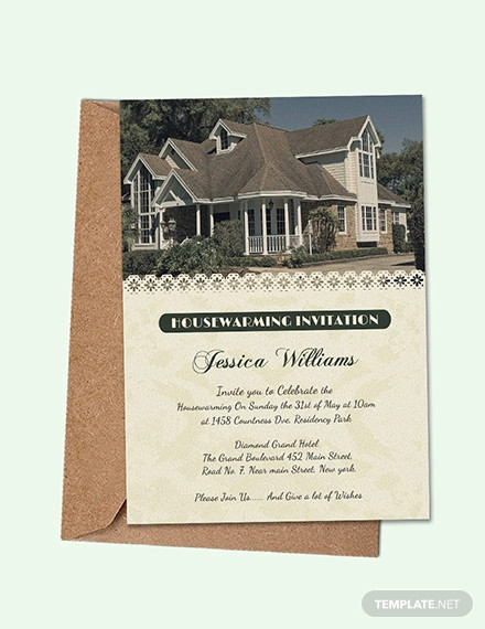 Housewarming Invitation Designs
