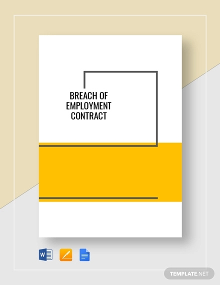 breach of employment contract