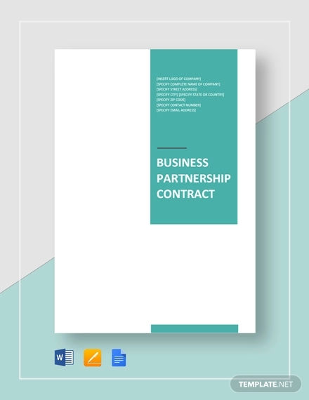 business partnership contract1
