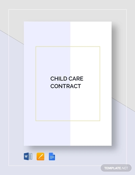 child care contract1
