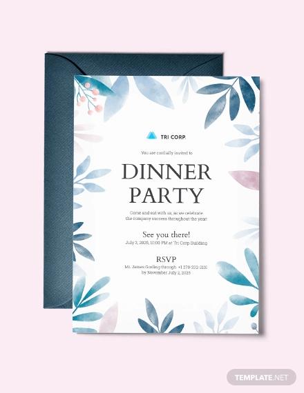 formal business dinner