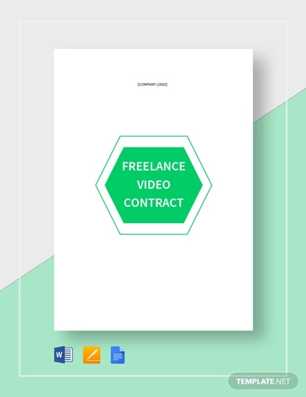 freelance video contract