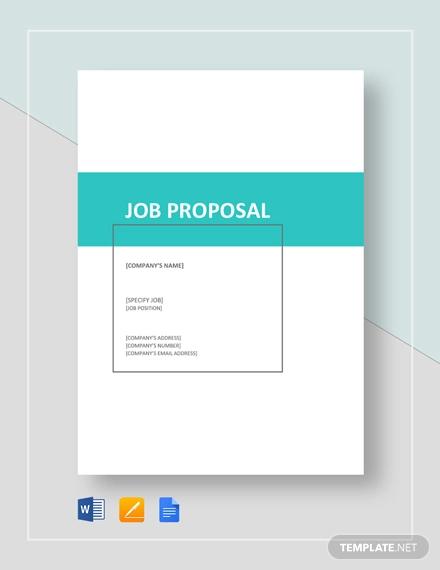 job proposal1