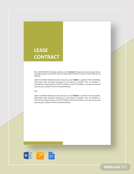 lease contract3