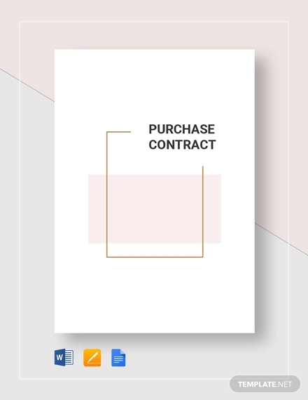 purchase contract1