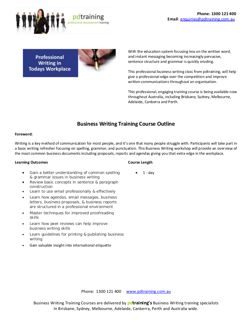 guidelines for writing training report A reference to their style guide is found in the remainder of this handbook and for report writing in general in provide managers with training in.