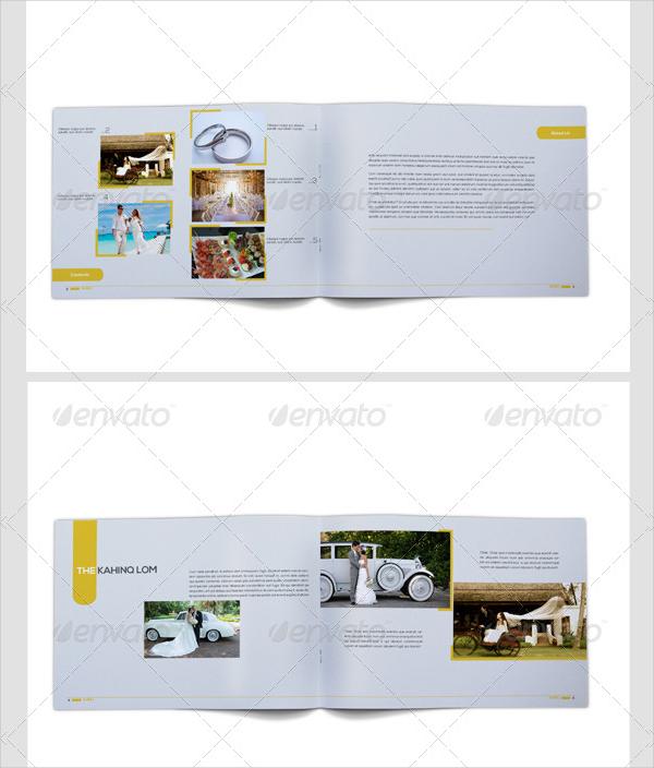 a4 portfolio catalog template