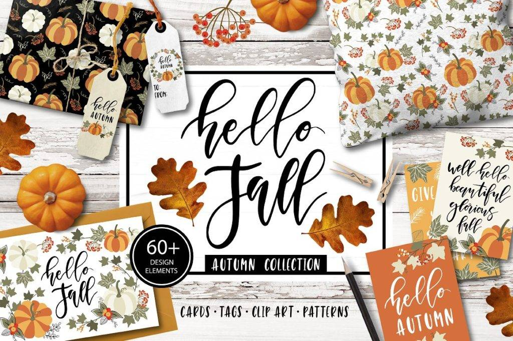autumn and fall clipart