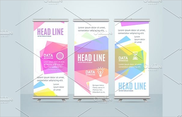 banner template with bubble speech