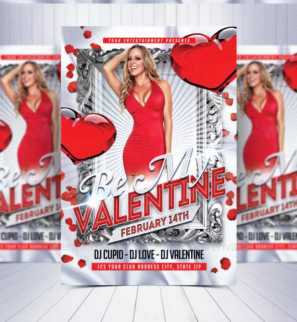be my valentine flyer