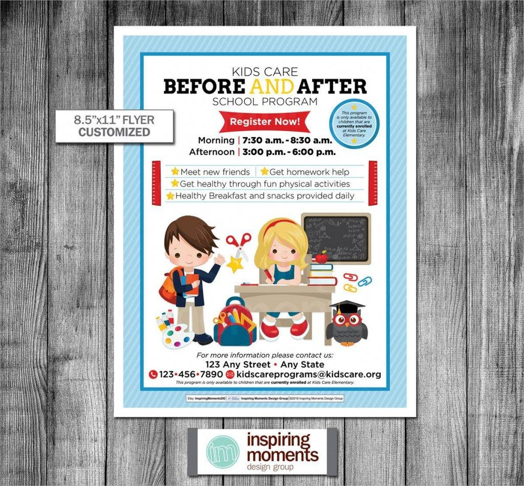 before and after care flyer printable1