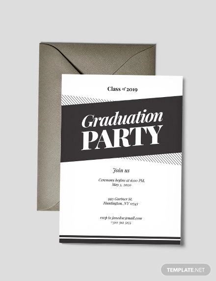 31 Examples Of Graduation Invitation Designs