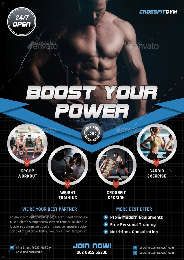 boost your power flyer