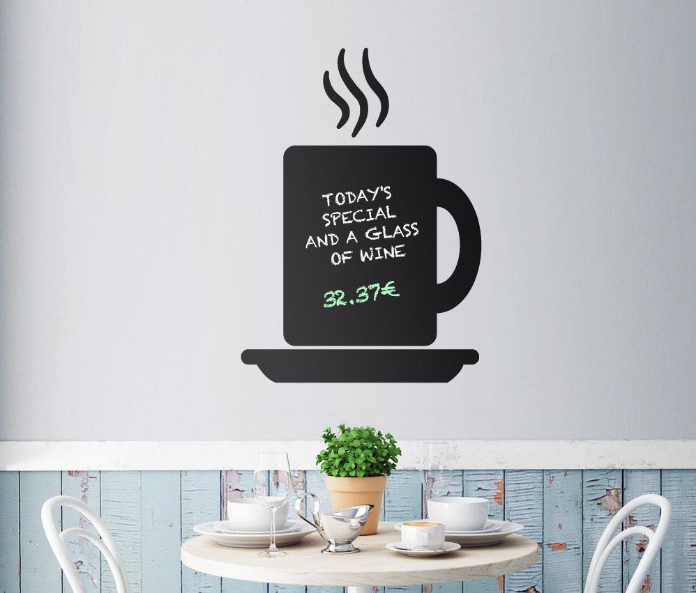 chalkboard coffee menu