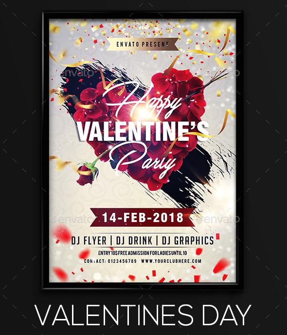 classic valentine flyer