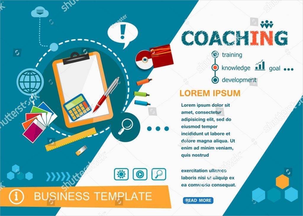 coaching flat design